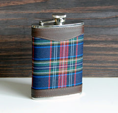 Plaid Flask