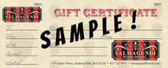 Storefront Gift Certificate!