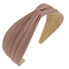Twist Top Headband, Matte Solids