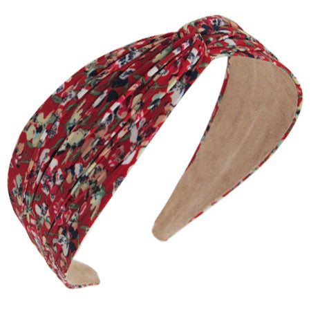 Twist Top Headband, Calico