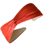 Twist Top Headband-Satin Solids