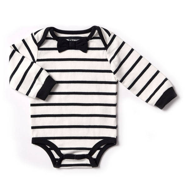 Baby Boy Formal Bodysuit Onesie and Black Biker Jogger, Black and White Stripes, Bow Tie, Pull-On Pants, Baby Shower Gift