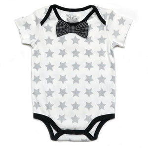 Star Onesie, Black Bow Tie & Short