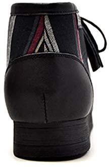 British Collection New Castle Men Leather and Suede Lace up