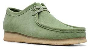 Clarks Wallabee Mens Shoes Cactus Green 26139177 (12 D(M) US)
