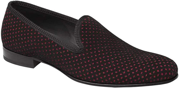 Mezlan Cibeles Mens Luxury Formal Loafers - Suede Slip-On Loafer with Leather Sole - Handcrafted in Spain