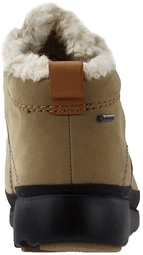 Clarks Women's Tri Arc Gore-TEX Waterproof Boot,Taupe Nubuck,US 7 M