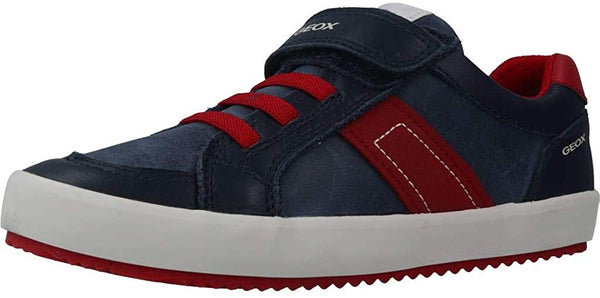 Geox Boys' J Alonisso C Low-Top Sneakers