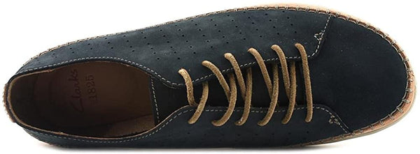 Clarks Men's Veho Edge Sneaker,Navy Cow Nubuck,US 11.5 M
