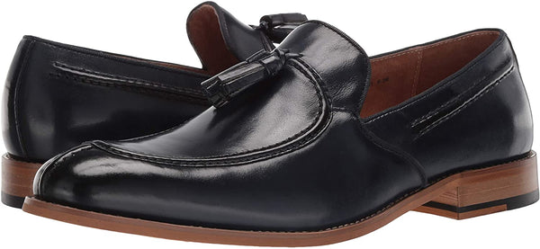 STACY ADAMS Men's Donovan Tassel Slip-On Loafer Oxford Shoes