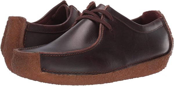 Clarks Men's Natalie Moccasin, Chestnut Leather, 13 M US