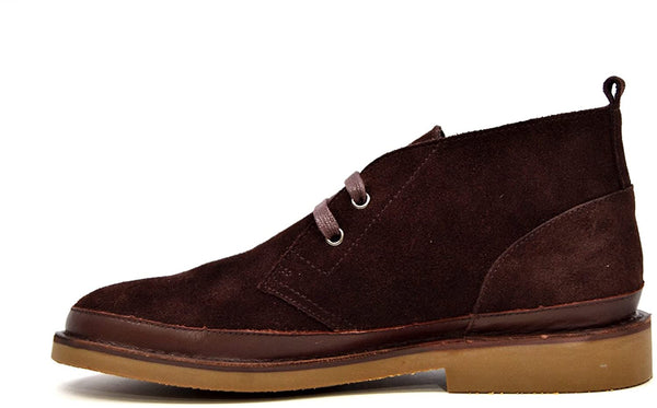 British Collection Cambridge Men Leather and Suede Lace Up