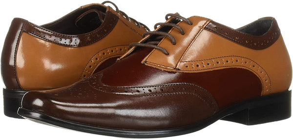 STACY ADAMS Kids' Tinsley Wingtip Lace-up Oxford