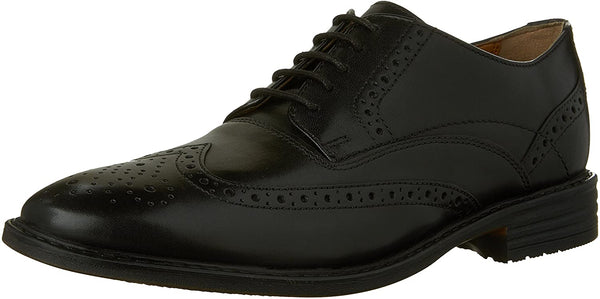 CLARKS New Men's Bostonian Garvan Edge Brogue Oxford 26119384 Black Shoes
