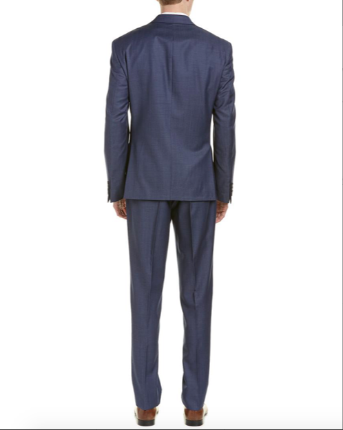 DKNY Men's Dark Navy Suit DNLD210Y1132 Dominic