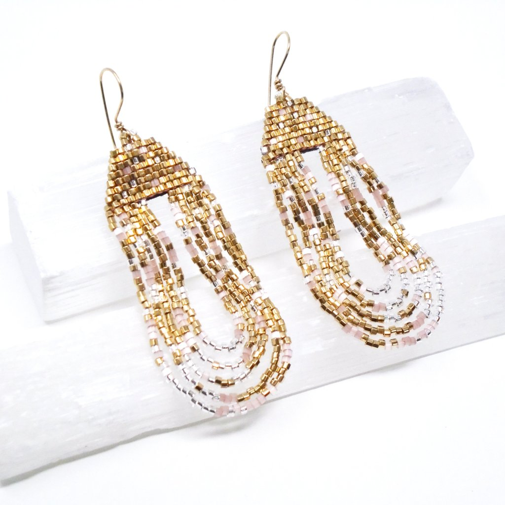GOLD BLUSH EARRINGS