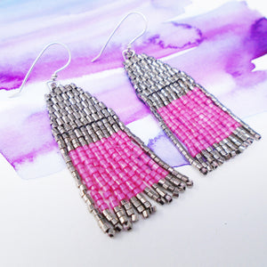 LIP STAIN EARRINGS