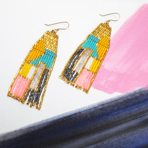 SPLIT SPACE EARRINGS