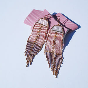 MAUVE EARRINGS