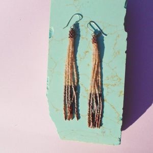 VELVET EARTH TASSELS