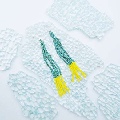 ELECTRIC LEMON TASSELS