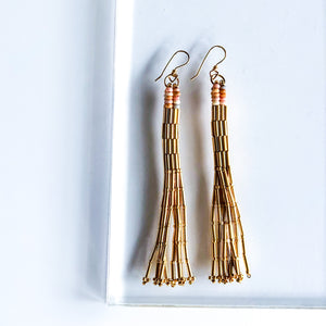 SHINE GOLD TASSELS
