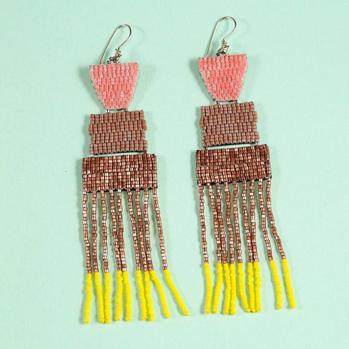 DAYBREAK EARRINGS (ROSE GOLD)