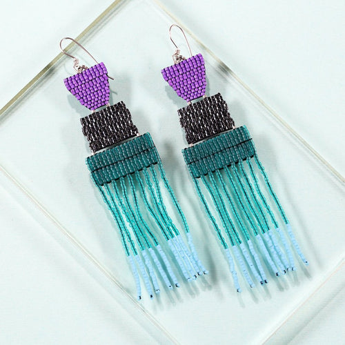 DAYBREAK EARRINGS (EMERALD GREEN)
