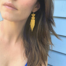 MUSTARD EARRINGS