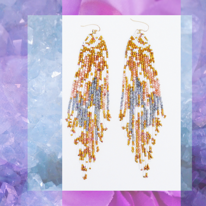 MONACO FRINGE EARRINGS