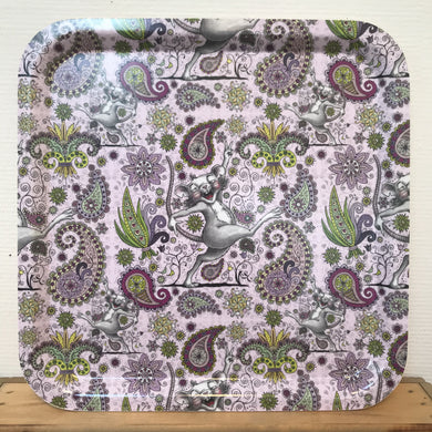 Vincents Paisley Bricka 32 x 32 cm