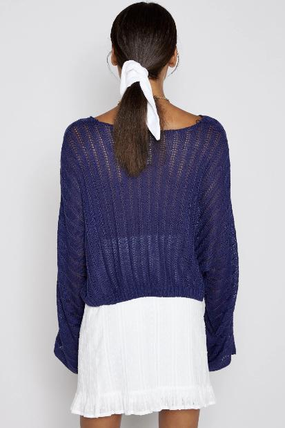 Sadie & Sage Catalina Sweater - Navy