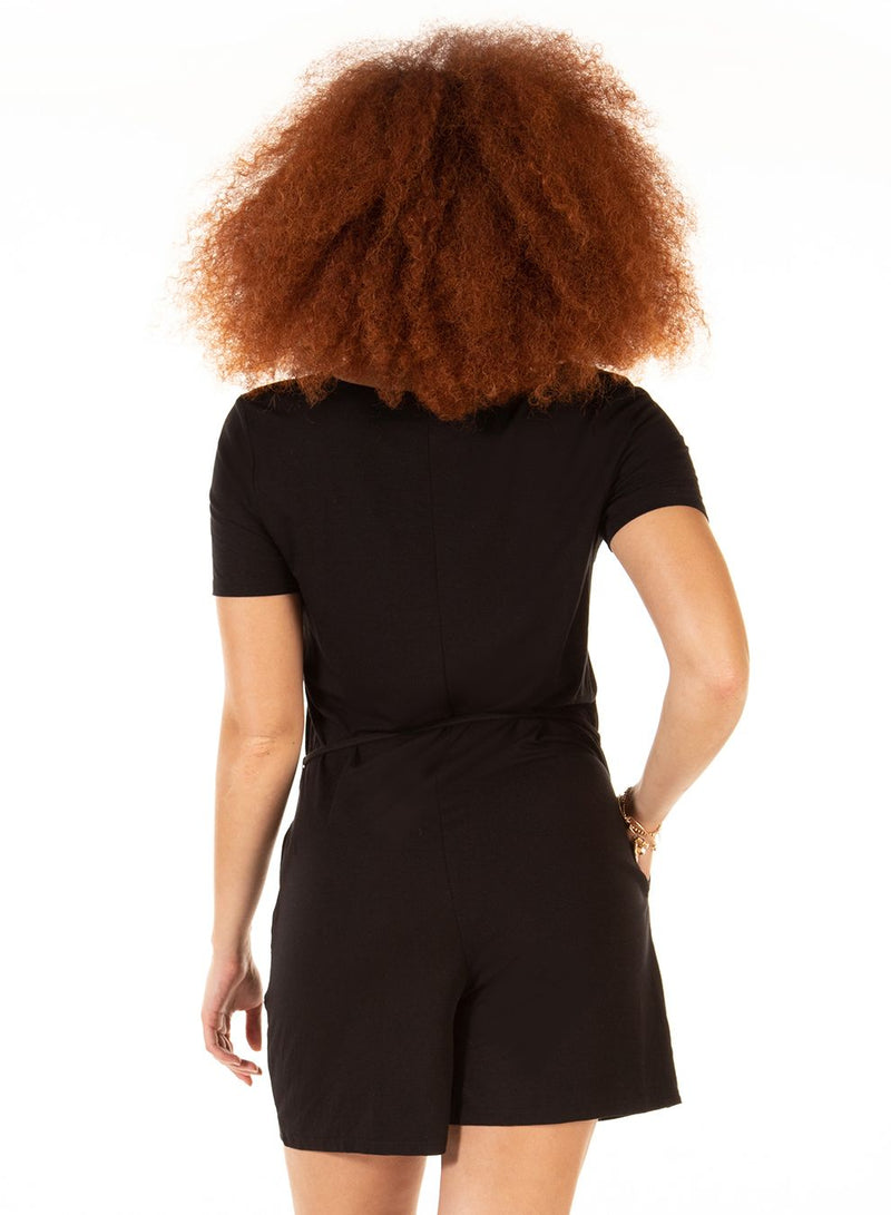 Dex Blake Romper | Black