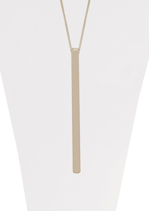 Characol Long Brushed Pendant | 1312