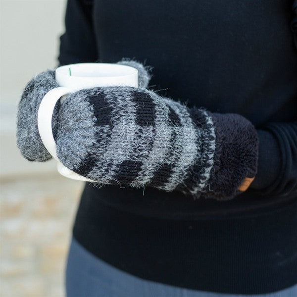 Buffalo Plaid Mitts