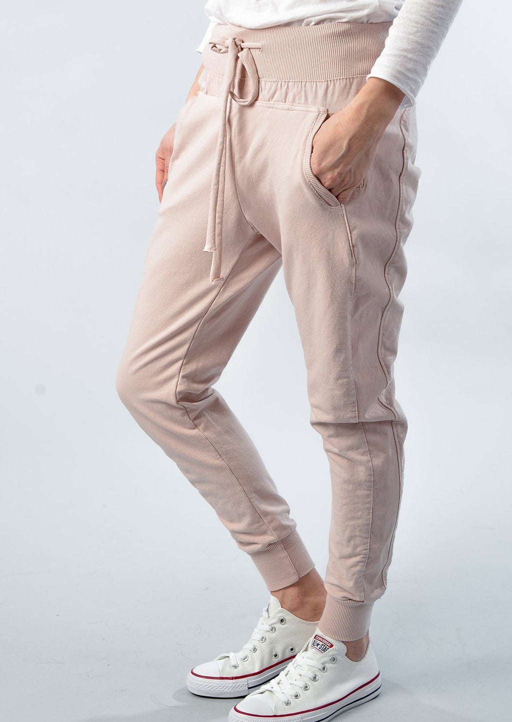Suzy D of London | Ultimate Jogger | Pale Pink