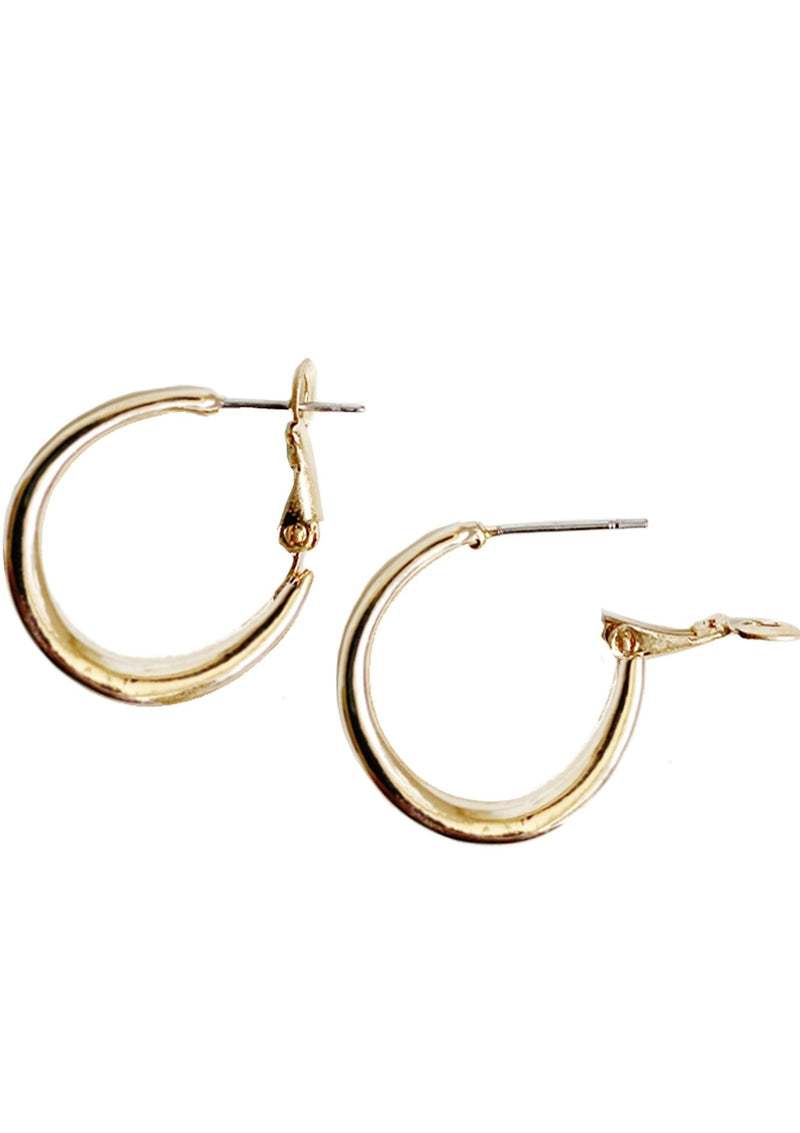 Caracol Small Rounded Hoops | 2402