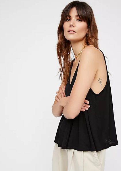 Free People Dani Tank | Black