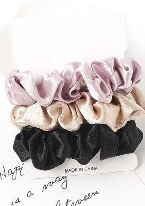 Bella Scrunchie 3-Pack | The Night In Collection