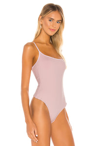 Free People Strappy Basique Bodysuit - Rose