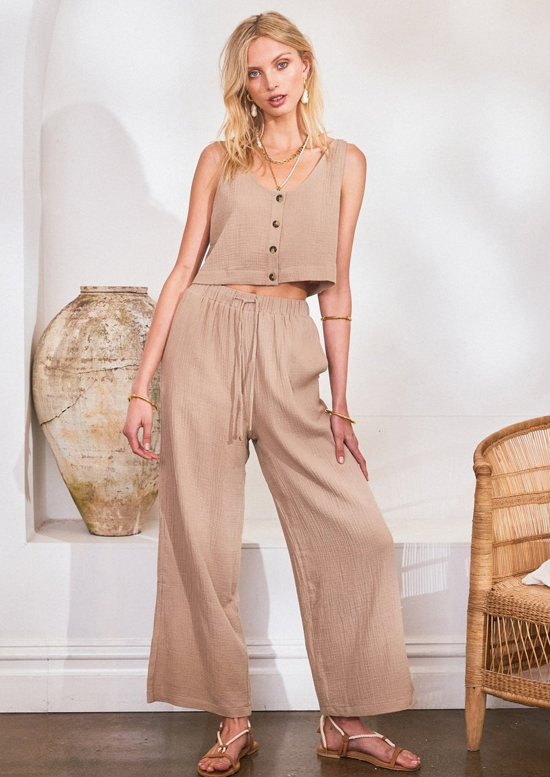 Lost in Lunar Georgie Pant | Stone
