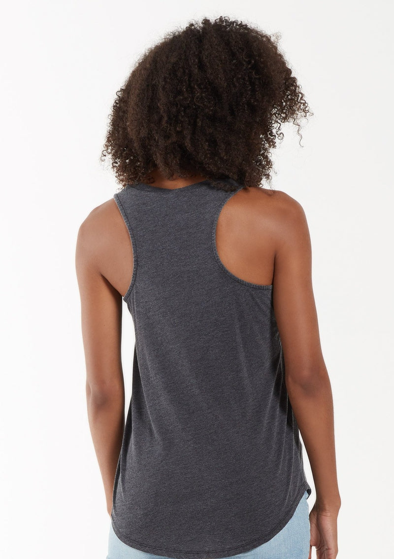 Z Supply Pocket Racer Tank | Black