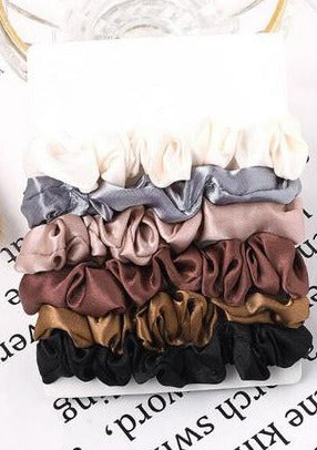 Bella Scrunchie 6-Pack |  The Stack Collection #2