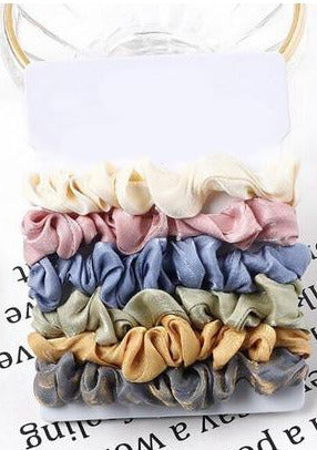 Bella Scrunchie 6-Pack |  The Stack Collection