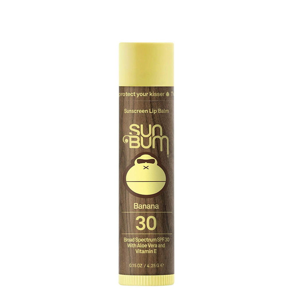 Sun Bum Sunscreen Lip Balm SPF30 - Banana