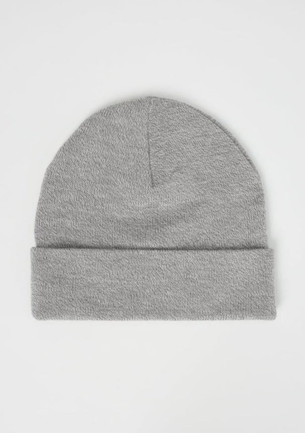 Tentree Embroidery Wool Kurt Beanie | Hi Rise Grey Marled