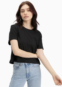 VERO MODA Aware Short Sleeve Tee - Black