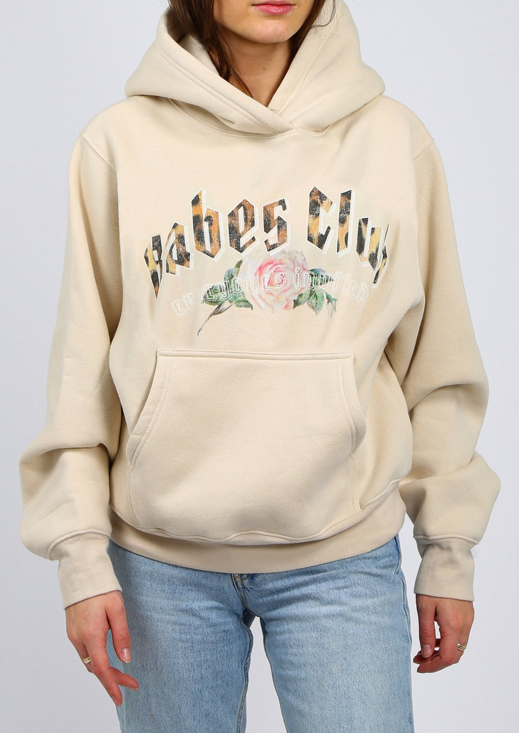 "Brunette The Label ""BABES CLUB"" Best Friend Hoodie 