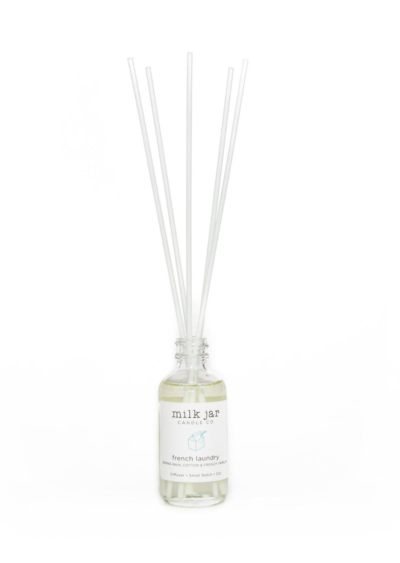 Milk Jar 2oz Diffuser | French Laundry