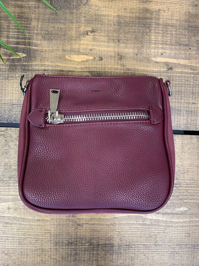 Colab Small Bucket Bag - Wine | 6316